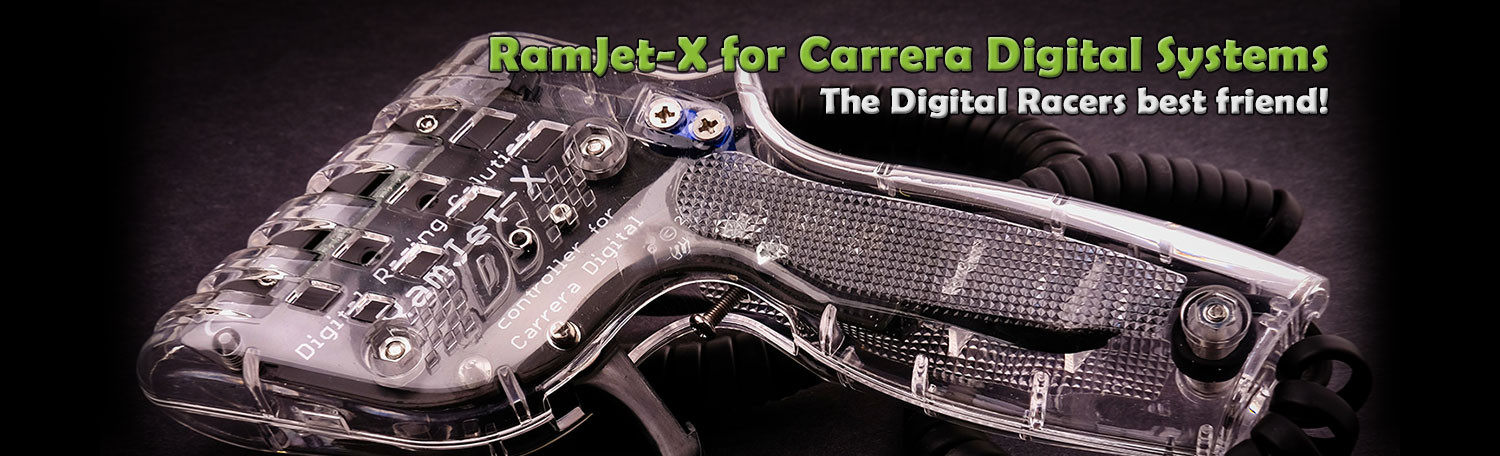 RamJet-X Digital Slot Car Controller