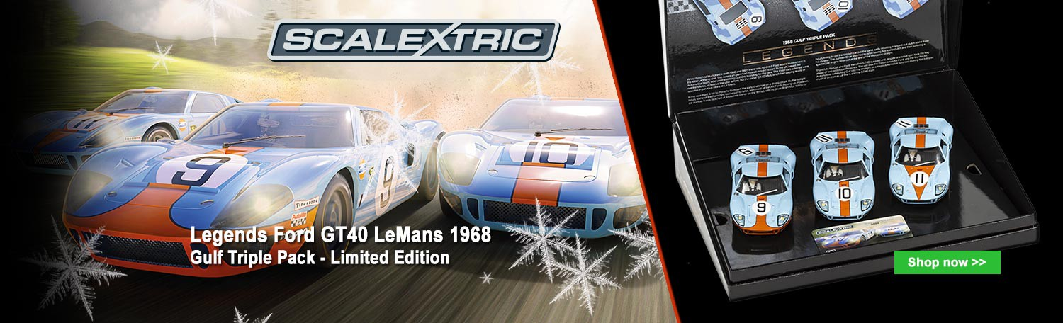 Scalextric C3896A Legends Ford GT40 LeMans 1968