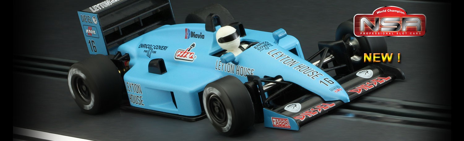 NSR 0126IL Formula 86/89 - Light blue n.16