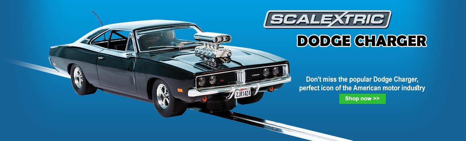 Scalextric C3936 Dodge Charger - Black