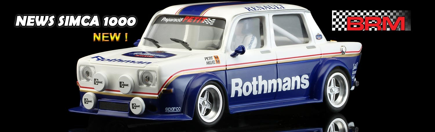BRM Simca 1000 - Rothmans Edition
